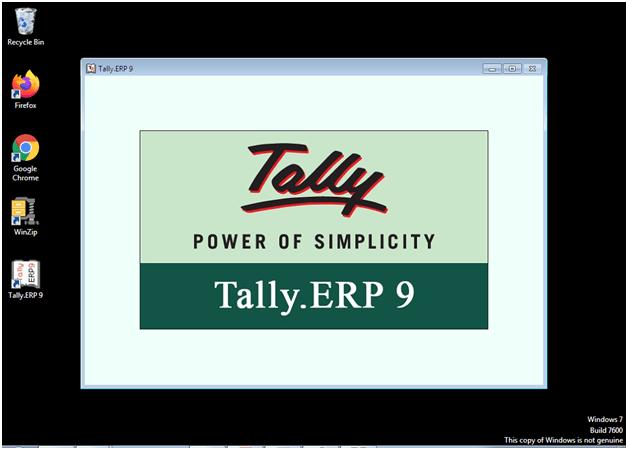 Tally ERP 9 Notes