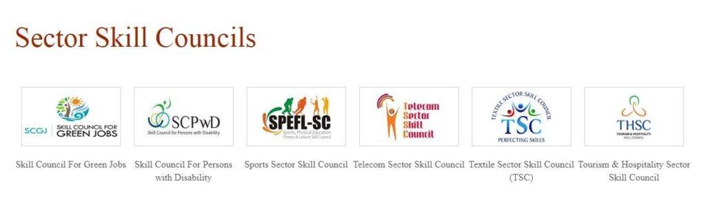 PMKVY - Sector Skill councils