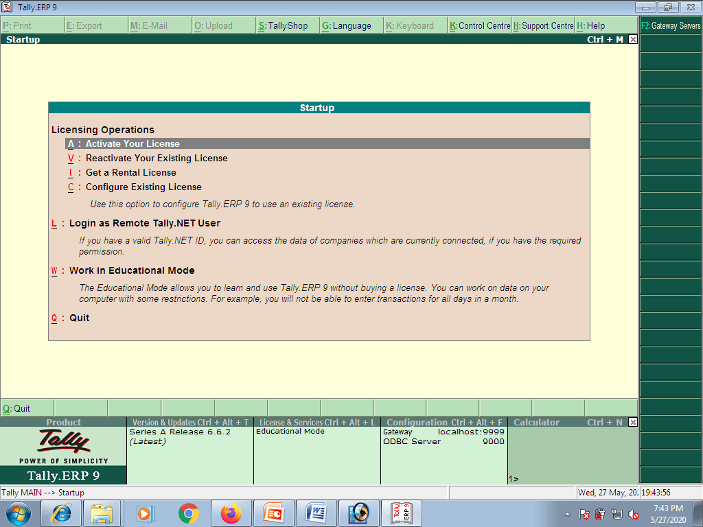 Downloading and Installation of Tally ERP 9