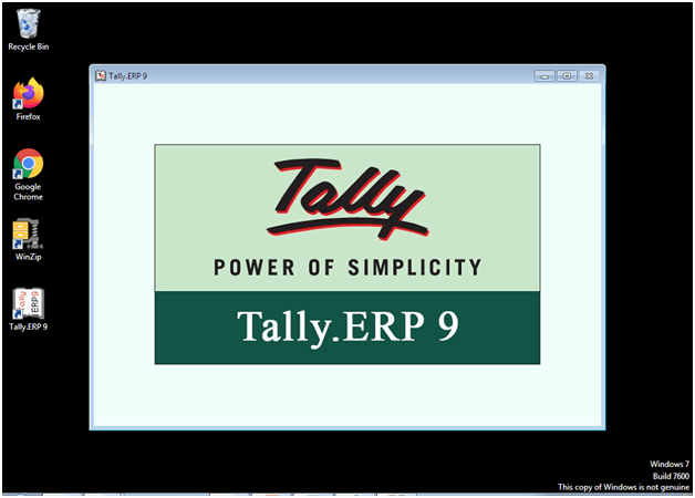 Downloading and installation of tally erp9