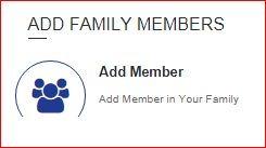 add family members samagra portal