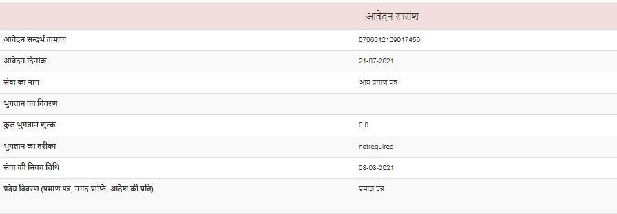 chhattisgarh e district receipt
