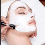 Bleaching Process in Beauty Parlour