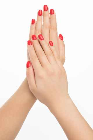 Manicure in Beauty Parlour