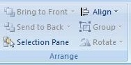Arrange Group Page Layout Tab in MS Excel in Hindi